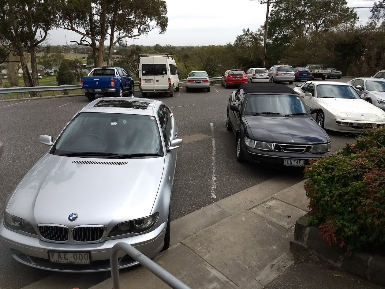 MWR cars at Bunyip 3