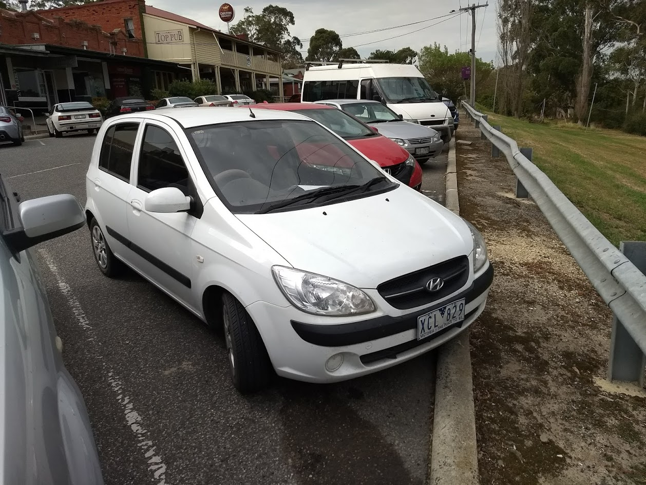 MWR cars at Bunyip 5