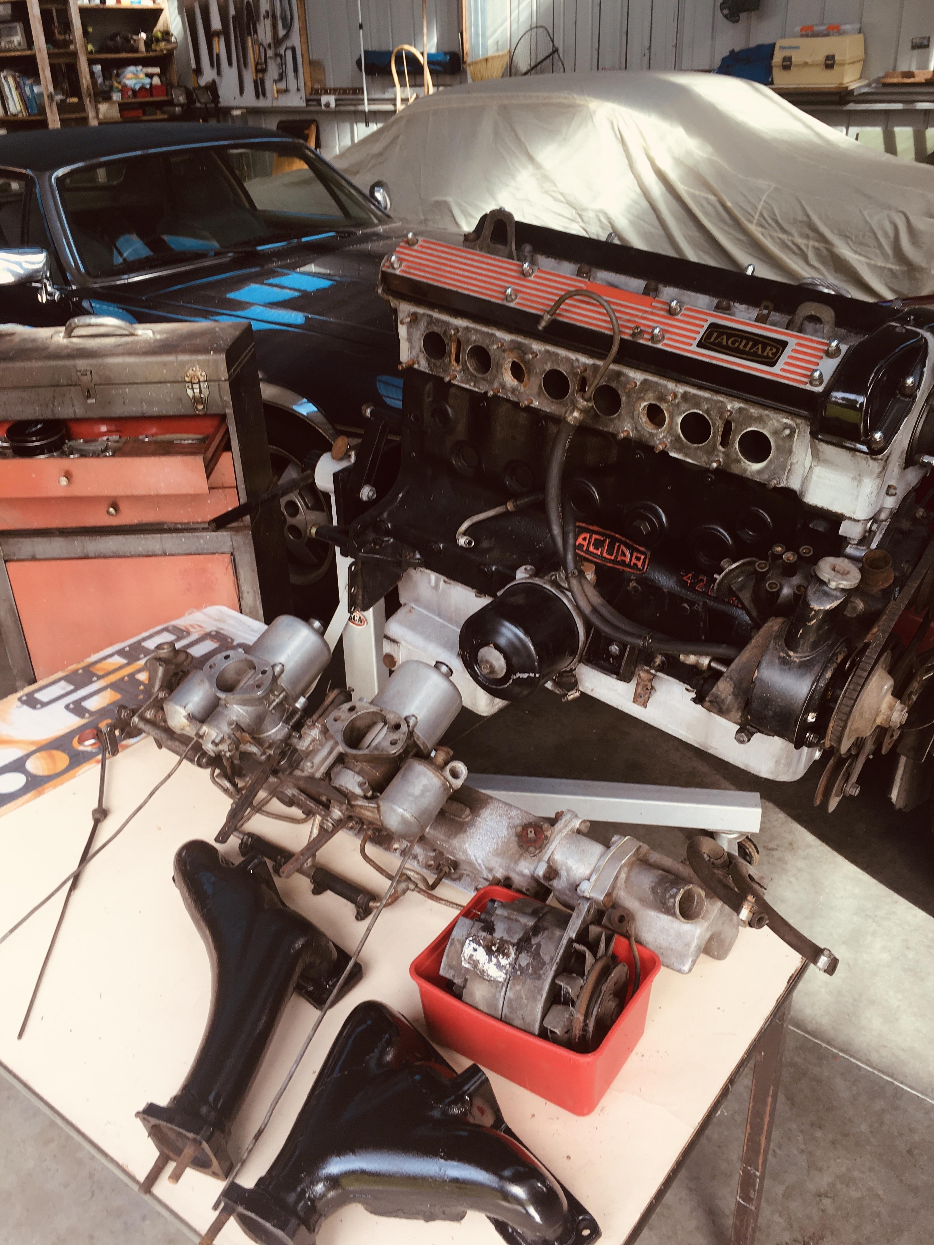 Jaguar-XJ6-Series-1-engine-rebuild