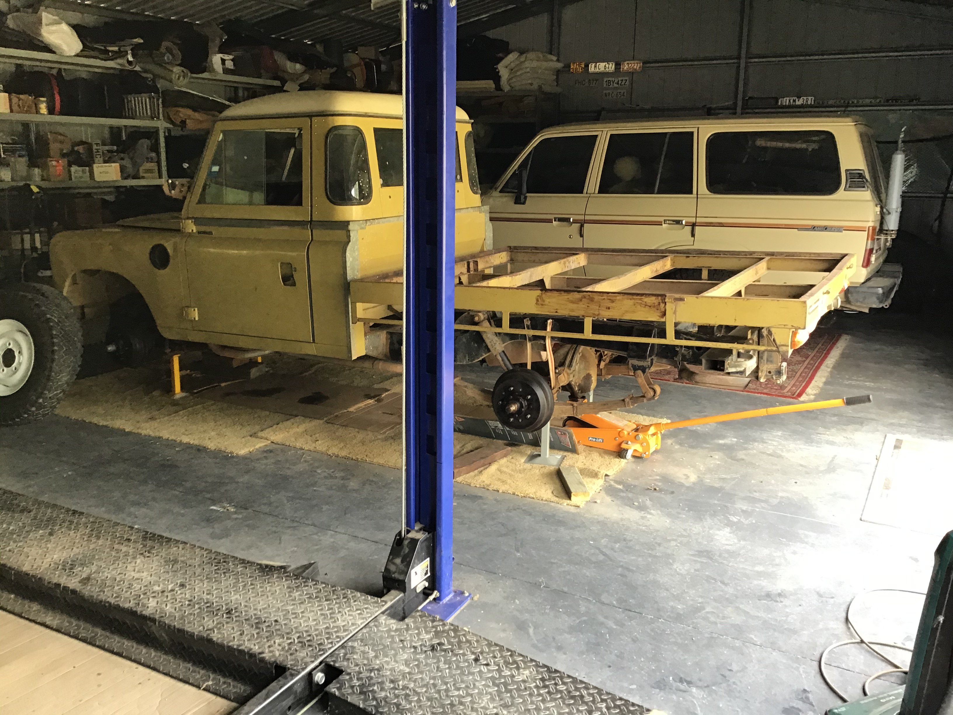 Landrover-Ute-project