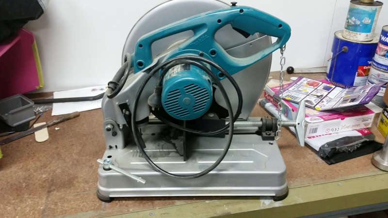 Cut-Off Drop Saw (35cm) Makita 2414NB -3
