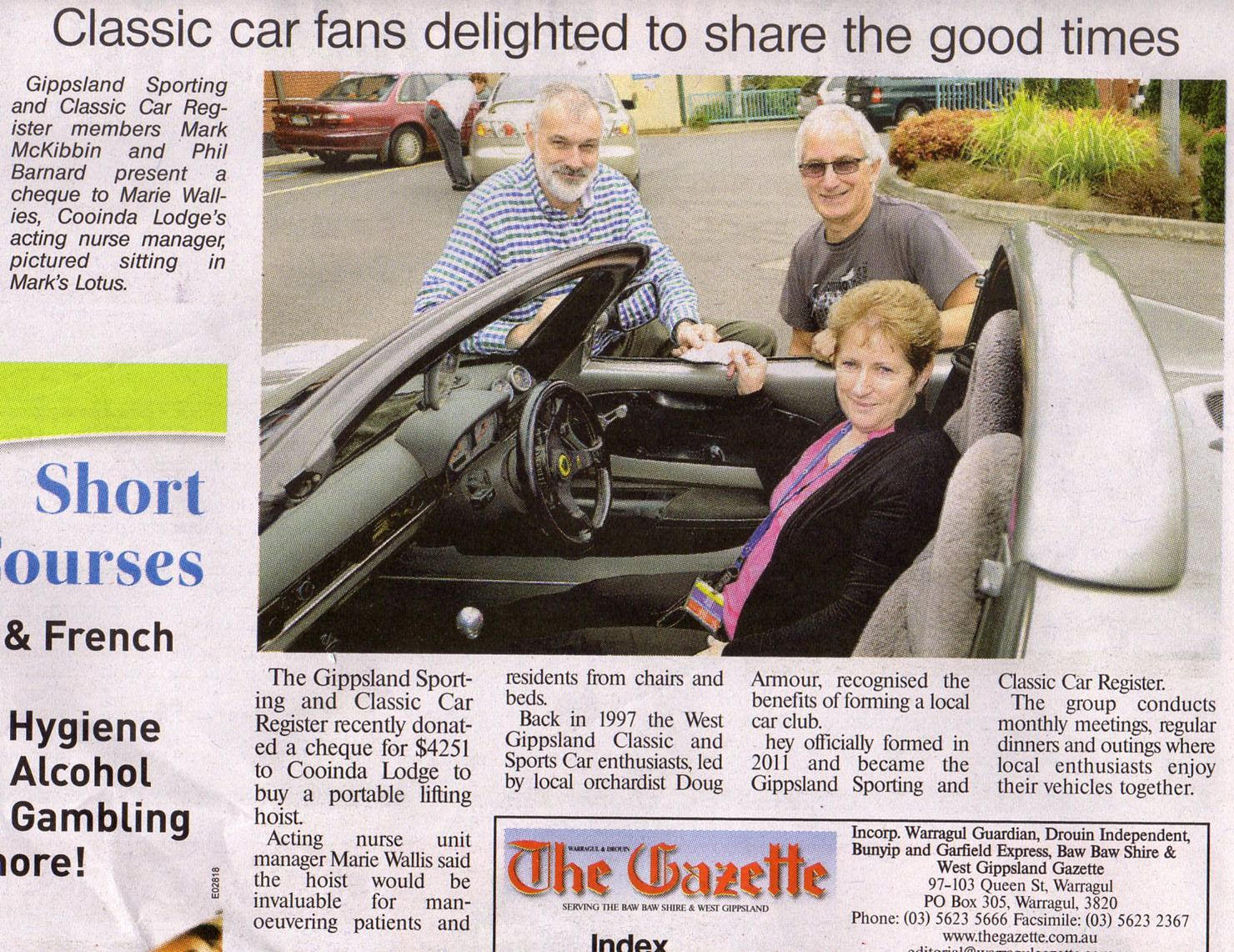 From the Warragul Gazette, Tuesday 4th March 2014